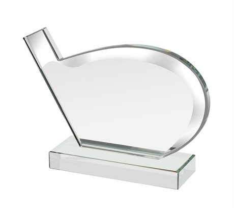 Golf Driver Glass Award