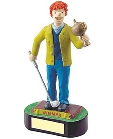 Snoopie Winner Golf Trophy